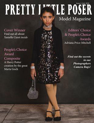 Pretty Little Poser Model Magazine July 2020 Issue