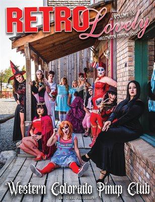 Halloween 2020 - VOL 23 – Western Colorado Pinup Club Cover