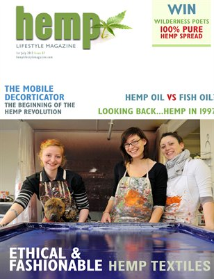 Hemp Lifestyle Magazine Issue 7 Print Copy