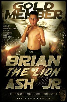 BRIAN ASH JR GOLD MEMBERSHIP/DIPLOMA POSTER
