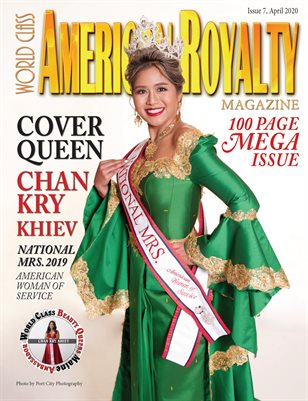 World Class American Royalty Magazine, Issue7 with Chan Kry Khiev