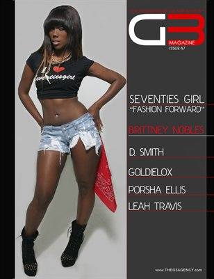 G3 Magazine Issue 47 (Brittney Nobles)