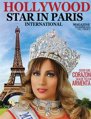 HOLLYWOOD STAR IN PARIS /december 2020 issue