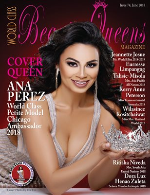 World Class Beauty Queens Magazine Issue 74 with Ana Perez