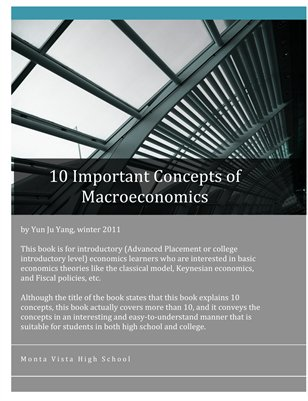 10 Important Concepts of Macroeconomics (original)
