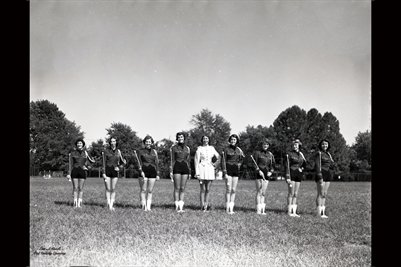 SEPT. 5, 1952 M.H.S BAND MAJORETTES