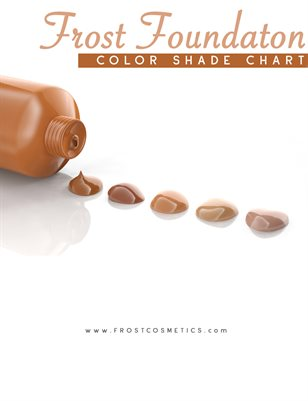 Frost Foundation Color Chart