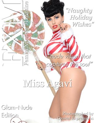FemmeXposure® Magazine December 2017 Issue #65 Cover Model: Miss Agavi