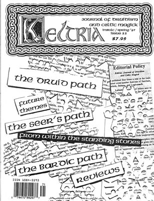Keltria Journal Issue 33 - Imbolc/Spring '97