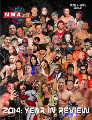 NWA Ringside Magazine Issue 3 - January 2015