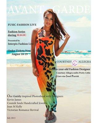 AVANT GARDE Magazine July 2013
