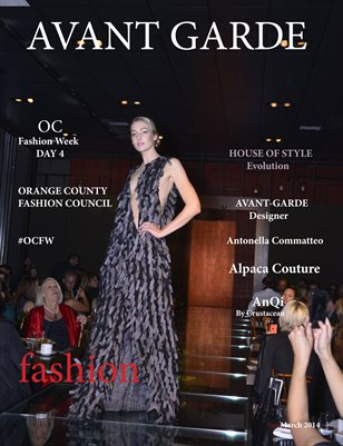 Avant Garde Magazine Designer Series | Alpaca Couture | OC Fashion Week March 2014