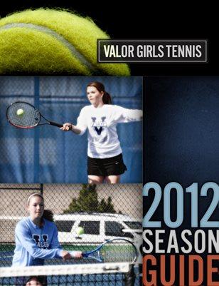 2012 Girls Tennis Season Guide