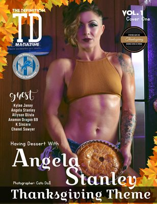 The Definition: Angela Stanley Thanksgiving vol.1 cover 1