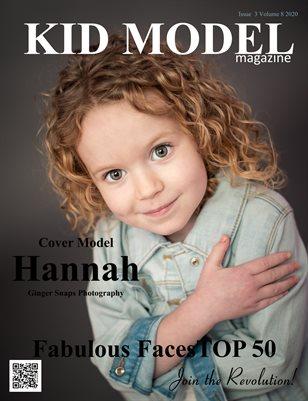 Kid Model magazine Issue 3 Volume 8 2020