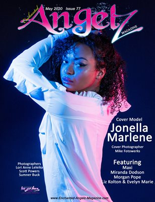 ENCHANTED ANGELZ MAGAZINE - Cover Model Jonella Marlene