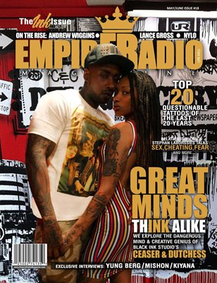 Empire Radio Magazine #18 The Ink Issue