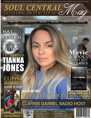 """Soul Central Magazine Edition #87 Cali Fae #Author"