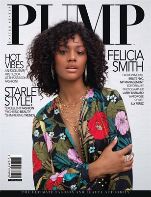 PUMP Magazine - The Fashion Edition - August 2018 - Vol.2