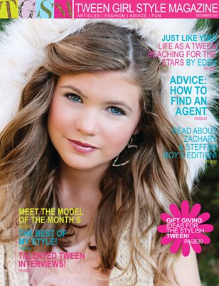 Tween Girl Style Magazine December 2011