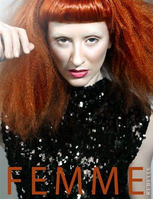 Femme Rebelle Magazine AUGUST - BOOK 1 MyBoudoir Cover