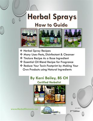 Herbal Sprays, How to Guide