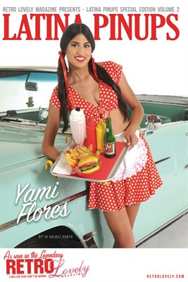 Latina Pinups Special Edition Vol.2 – Yami Flores Cover Poster