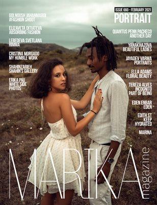 MARIKA MAGAZINE PORTRAIT (ISSUE 660 - February)