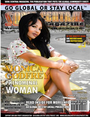 Soul Central Magazine – #Monica #Godfrey #Edition #104