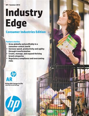 HP Industry Edge: Consumer Industries Edition - Summer 2014