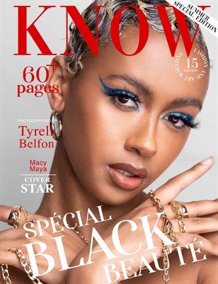 KNOW Magazine Spécial Black Beauté June 2021_Macy