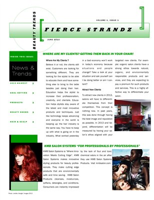 Fierce Strandz Newsletter