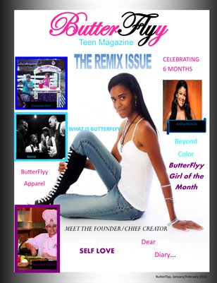 ButterFlyy Teen Magazine - Jan./Feb. Issue