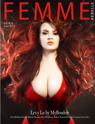 Femme Rebelle Magazine July 2016 - ISSUE 17.2