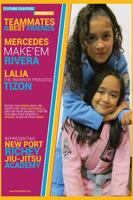 Lalia & Mercedes Friends/Teammates Poster