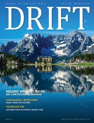 DRIFT Travel Magazine Winter 2021