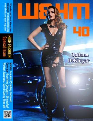 Wheels and Heels Magazine Issue 40 Tatiana DeKhtyar