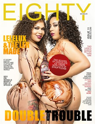 eighty6 blvd magazine series11(Double Trouble edition)lelelux & tae'ler cover