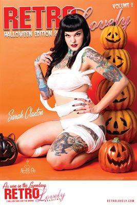 Sarah Claxton Halloween Poster