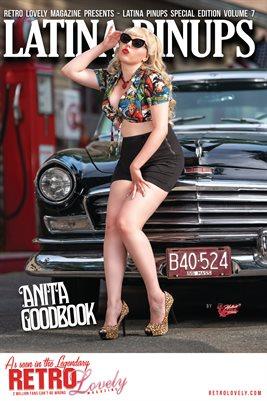 Latina Pinups Special Edition Vol.7 – Anita Goodbook Cover Poster