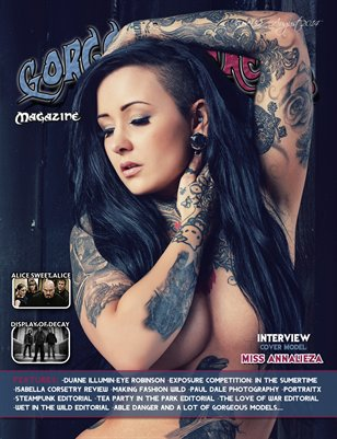 Issue 32 Cover Model: Miss Annalieza
