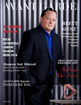 AVANT GARDE Magazine August Issue 2015