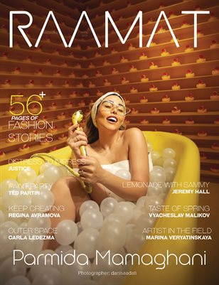 RAAMAT Magazine April 2021 COLORS Special Edition Issue 1