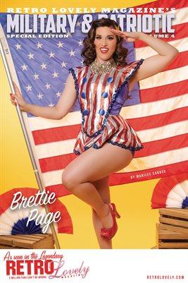 Patriotic & Military 2021 Vol.4 – Brettie Page Cover Poster