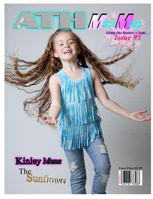 ATH Mini Mag Issue#95 The Sunflower, Kinley Munz