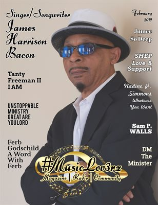 #MusicLov3rz February 2019 Magazine - Independent Music Worldwide