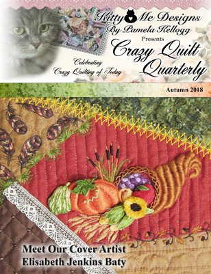 Crazy Quilt Quarterly Autumn 2018