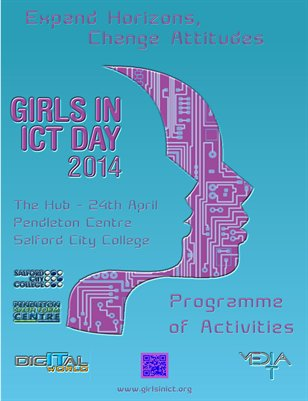 GIRLS IN ICT DAY 2014 @ Salford City College Programme