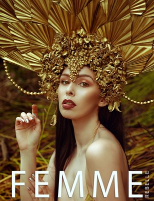 Femme Rebelle Magazine MAY 2018 - BOOK 1 Rhiannon Laite Cover