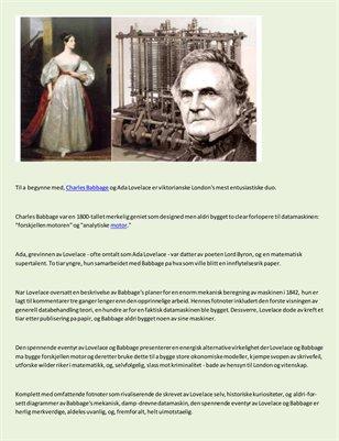 Dyman Associates Publishing Book Review - Den spennende eventyr av Lovelace og Babbage